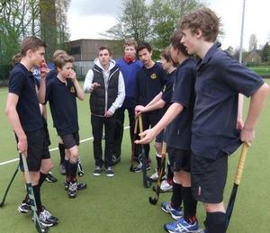 Hockey-Endrunde 2012 - 1