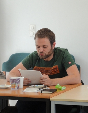 Workshop Poetry-Slam - 1 - Patrick Salmen