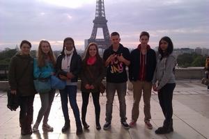 Paris-Exkursion des LK Französisch - 1