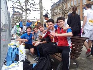 Teilnehmer am Düsseldor-Marathon -1